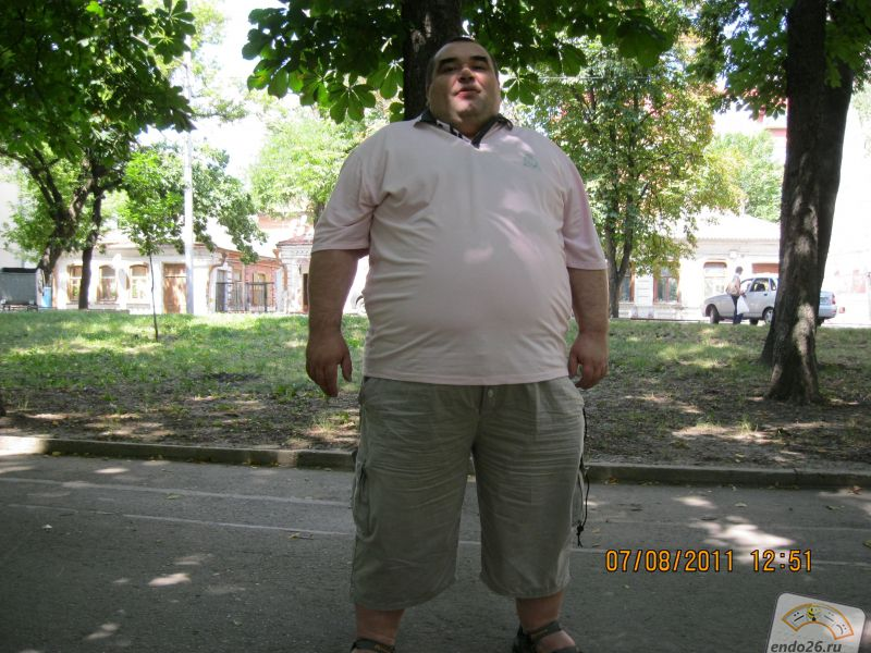 Лето 2011 перед стремительным набором веса